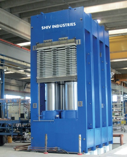 Hydraulic Hot Press Manufacturers In India Plywood Press